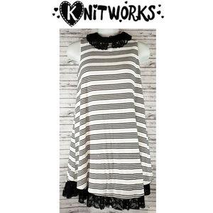 Knitworks Sleeveless Dress Size 12 NWT